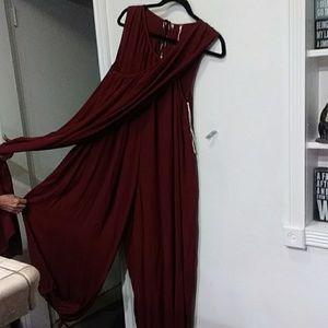 Free People wrap Romper dress
